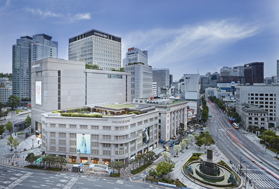 Shinsegae Department Store & getting there | Seoul, South Korea