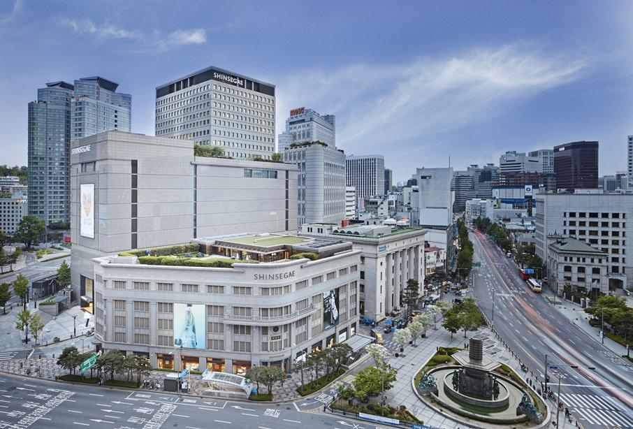 Shinsegae Department Store & getting there | Seoul, South Korea