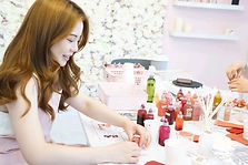 K-Beauty Skincare Products & Lipstick Making Experience