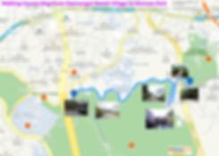 Walking Course Map of Namsangol to Namsan Park | KoreaToDo