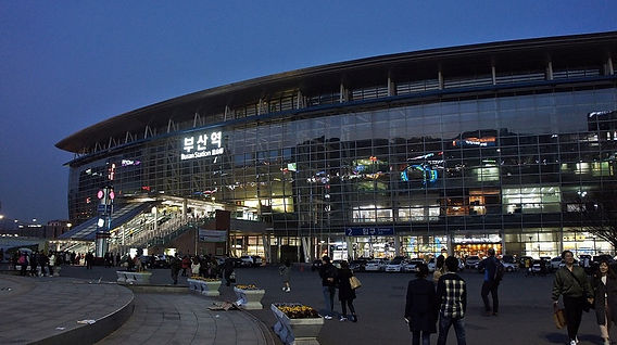 Busan Station, Luggage Storage & Getting There   Busan, South Korea
