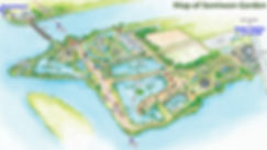Yangpyeong - Map of Semiwon Garden