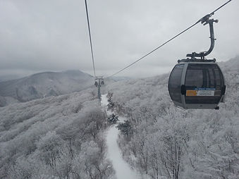 High1 Resort - Gondola & Ski Slope | South Korea