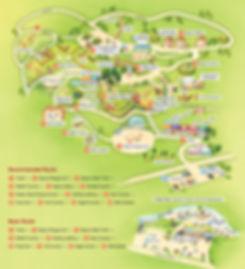 Alpaca World (Farm Animals in Nature) - Tourist Map | Hongcheon, South Korea