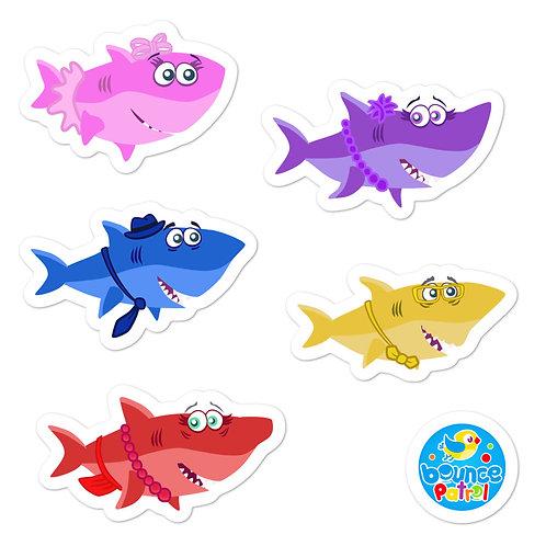 Baby Shark Sticker Set