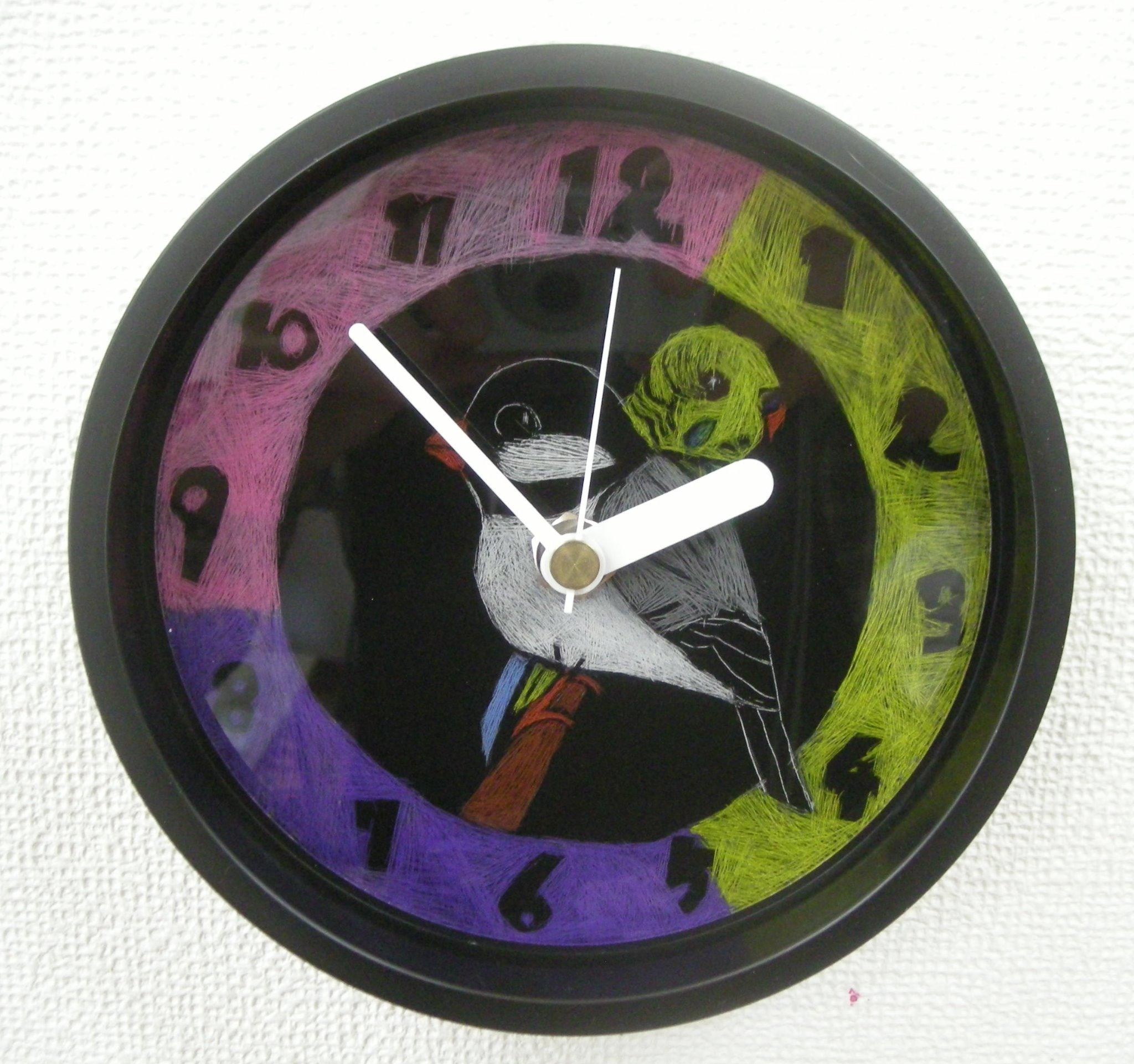 Y・Hさん 中1 時計文字盤絵付け