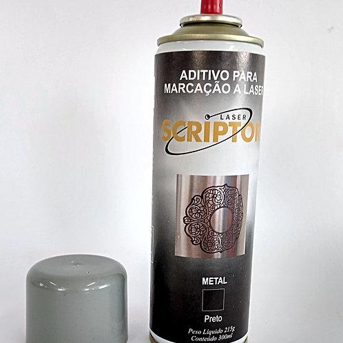Laser Scriptor Metal- Preto aerosol