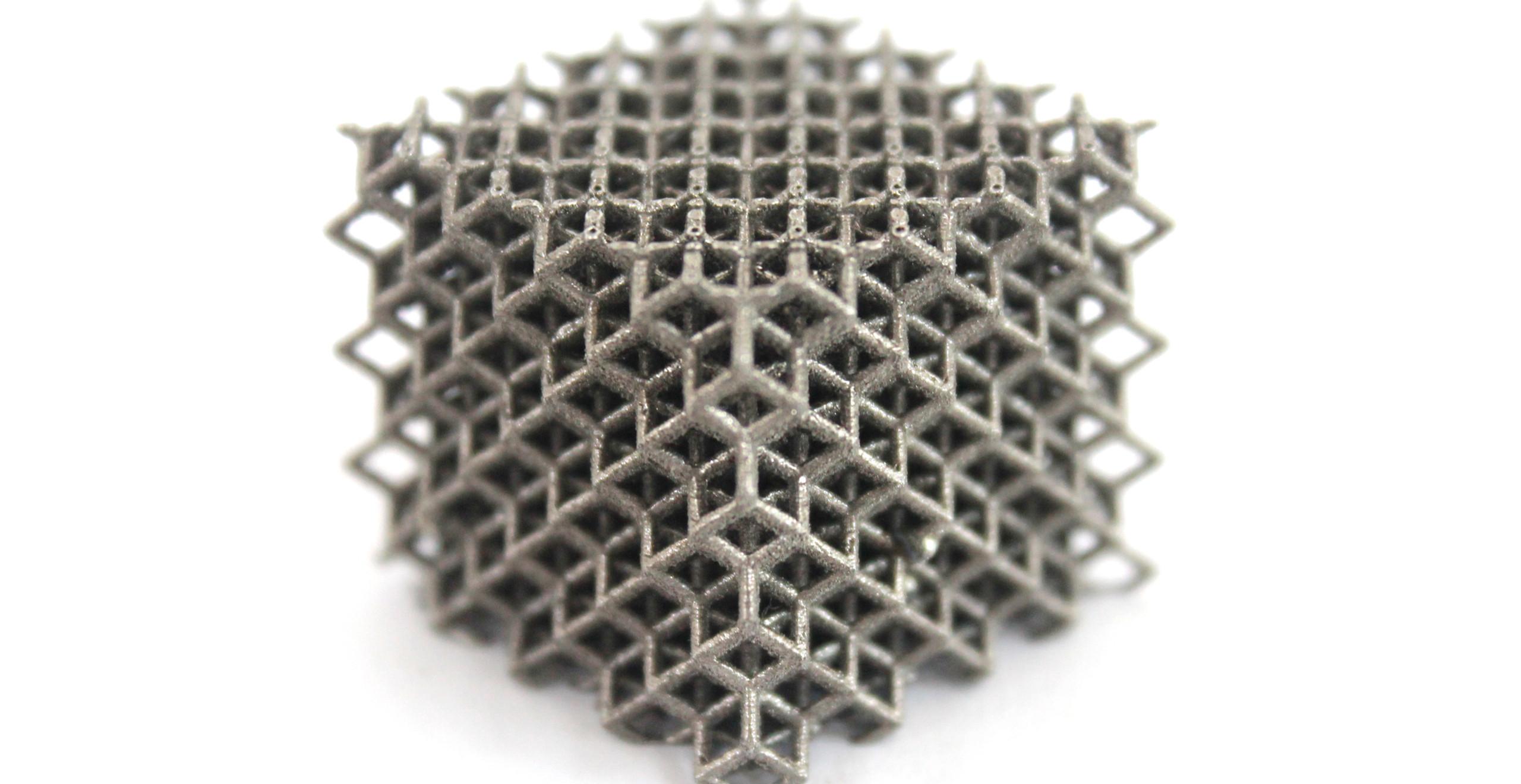lattice inox fusão seletiva a laser slm alkimat brasil treliçada