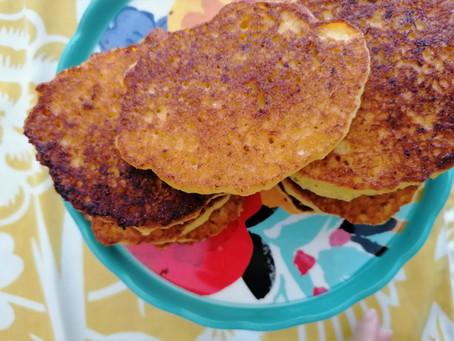 Fritas de elote hechas en casa
