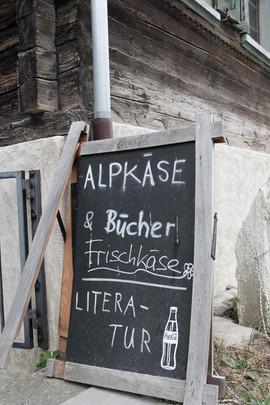 Alpkäse & Literatur von Leo Tuor