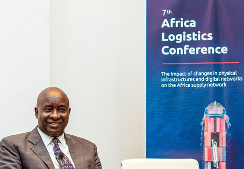 Moderating the Africa Logistics Conference (2019)