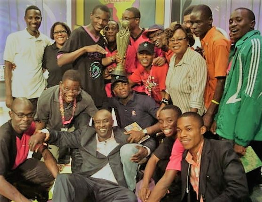 With Zain Africa Challenge Winners (2009)