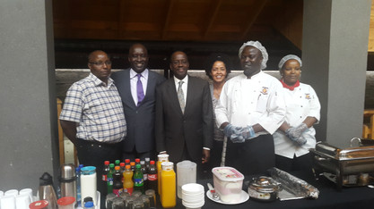 With CJ Willy Mutunga at Brookhouse School (2016)