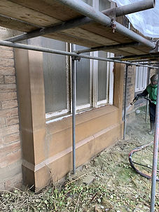 carbon removal wet blasting