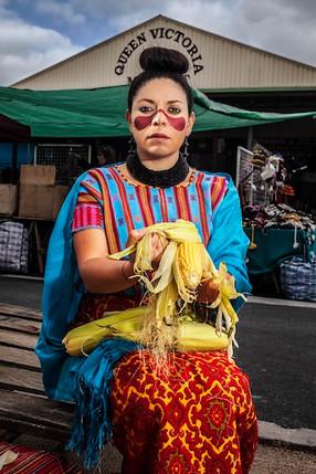 Queen of Maize, Sissy Reyes & Yunuen Perez 2013