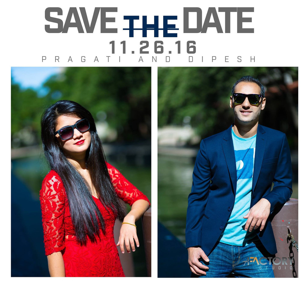 Pre-wed photography and  invitation
