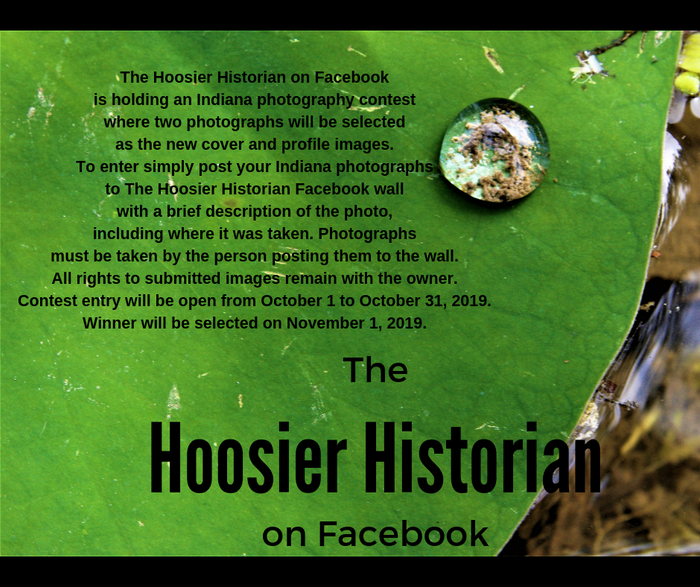 The Hoosier Historian Facebook Photo Contest