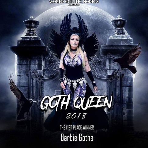 Winner Goth Queen 2018