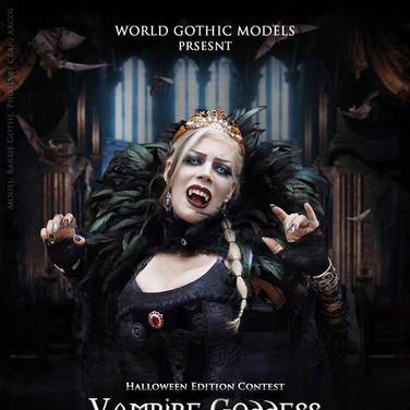 Poster for Vampire Goddess contest