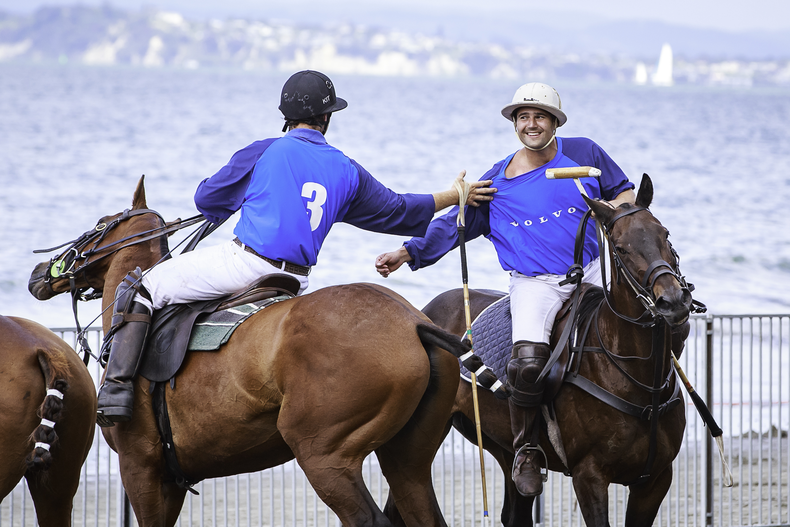 Blue team at The Polo