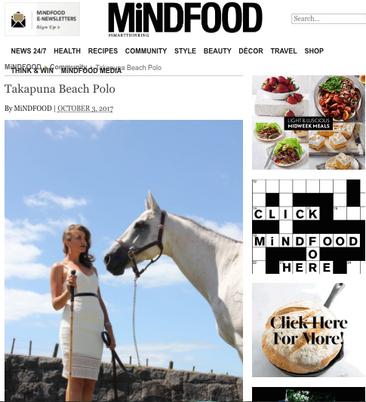Takapuna Beach Polo: By MiNDFOOD