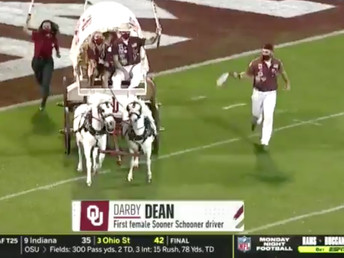 Darby Dean makes history at OU