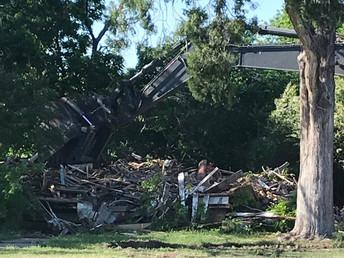 MORE HISTORY LOST FOR SANGER Batis home demolished for widening of FM 455