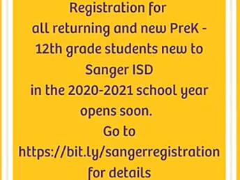 SISD registration begins June 8 for returning students and  June 15 for new enrollees