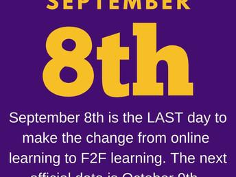 Sanger ISD Change In  Learning Platform Commitment