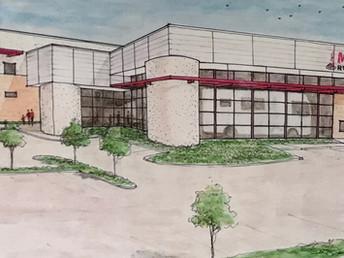 McClain's starts on new                  100,000 sq. ft. dealership