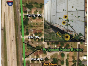 Homeowners vote yes for TxDOT noise wall barrier on I-35