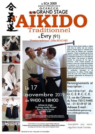 Stage d'automne 17 novembre 2019