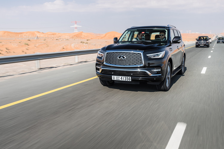Infiniti QX80 Press Event 2018 _ Low Rez