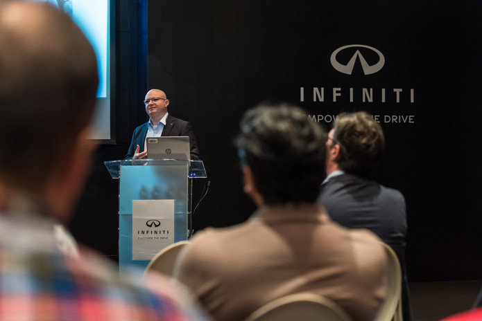 Infiniti QX80 Press Event 2018 _ Low Rez