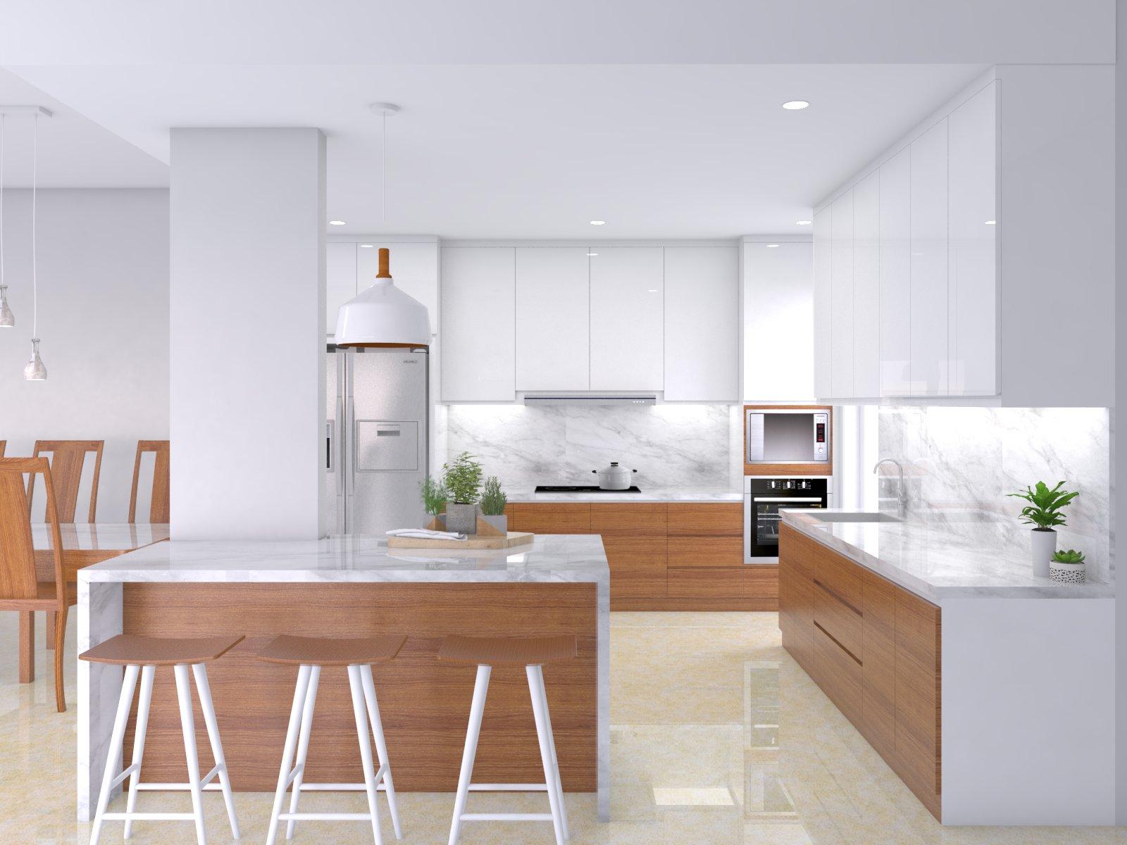 Kitchen Set View