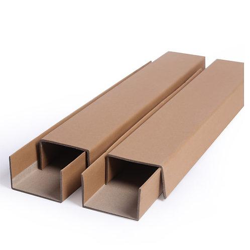 Kraft Cardboard Edge Protection Shape-U