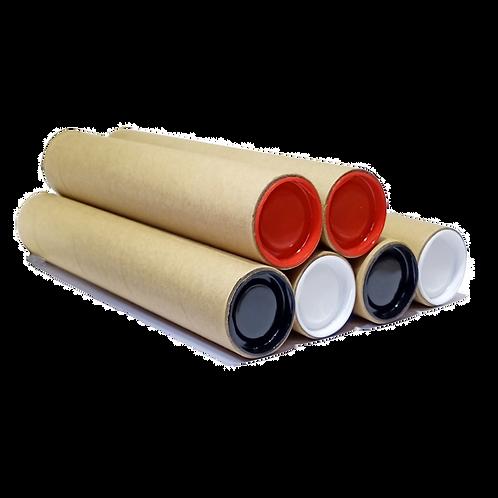 Kraft Cardboard Mailing Tube 100% Biological