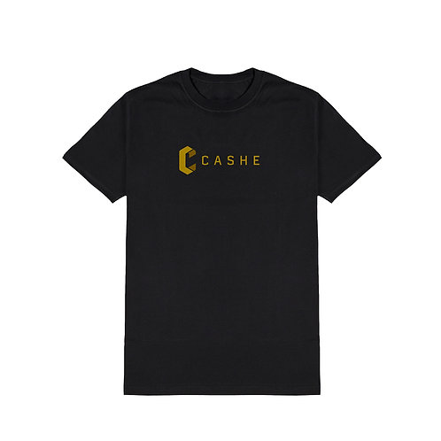 Cashe Logo Tee - Black