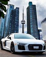 Audi R8 in Toronto