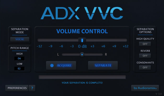 ADX VVC 3 (Vocal Volume Control)