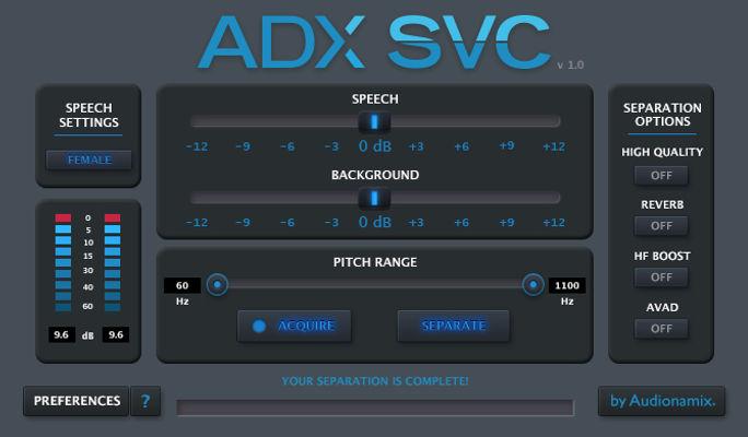 ADX Speech Volume Control (SVC)