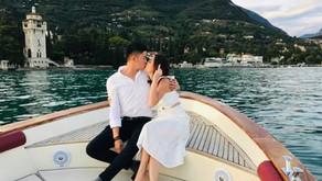 A VERY ROMANTIC MARRIAGE PROPOSAL ON GARDA LAKE