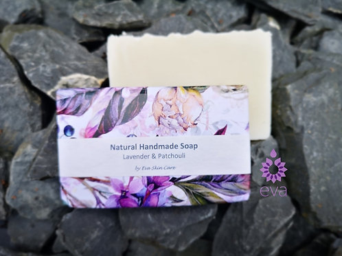 Lavender & Patchouli Natural Handmade Soap