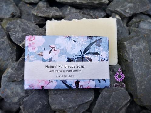 Eucalyptus & Peppermint Natural Handmade Soap