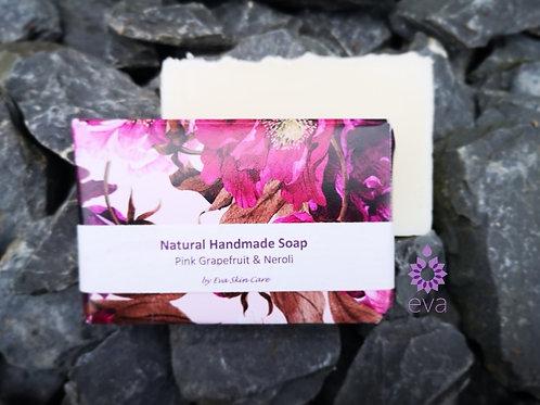 Pink Grapefruit & Neroli Natural Handmade Soap