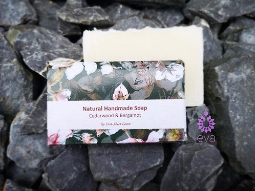 Cedarwood & Bergamot Natural Handmade Soap