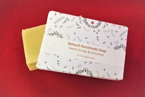 Sweet Orange & Cinnamon Natural Handmade Soap