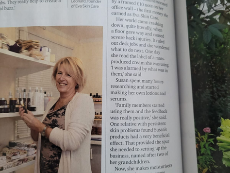 Eva Skin Care in Lancashire Life