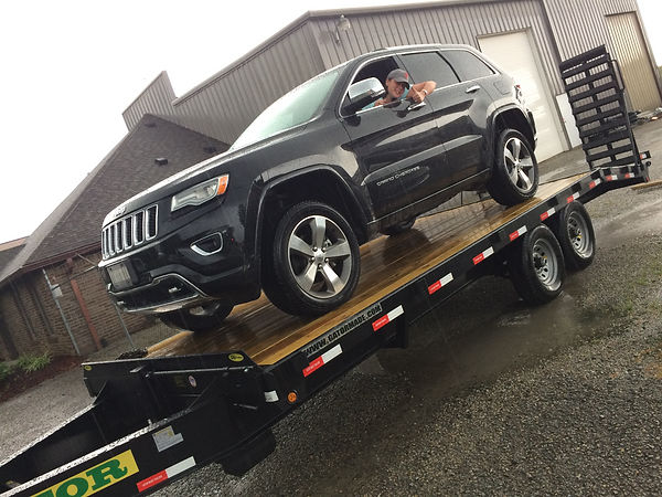 Jeep Grand Cherokee Overland Towing