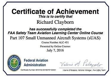 Drone Pilot FAA Course